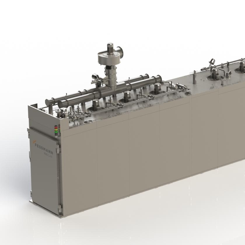 Semi-continuous system TF3000
