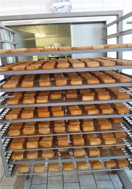 Smoked Tofu (approx. 250 Kg / trolley)